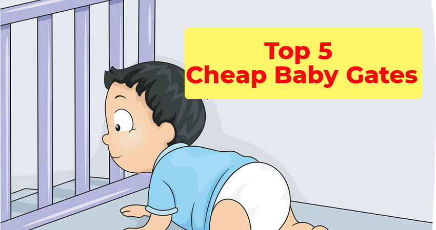 Top 5 Cheap Baby Gates